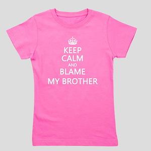 Keep Calm Kids Girl's Tee