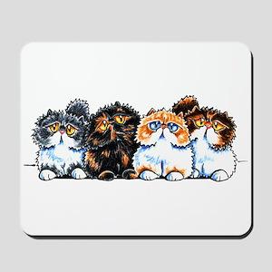 Exotic Foursome Mousepad