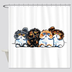 Exotic Foursome Shower Curtain
