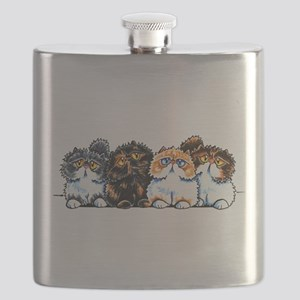 Exotic Foursome Flask