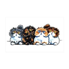 Exotic Foursome Wall Decal