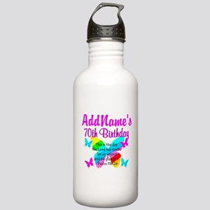 BLESSED 70TH Stainless Water Bottle 1.0L