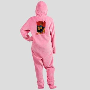 Nova Paint Footed Pajamas