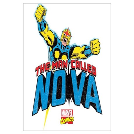 The Man Called Nova Wall Art & Marvelu0027s Nova Wall Art - CafePress