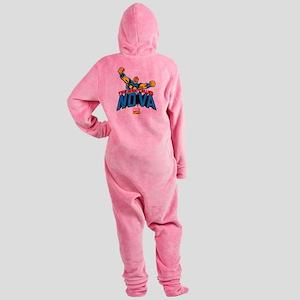 The Man Called Nova Footed Pajamas