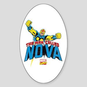 The Man Called Nova Sticker (Oval)