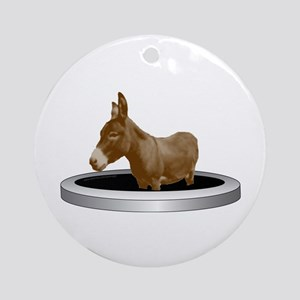 Ass Hole Ornament (Round)