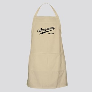Personalize Awesome Since Apron