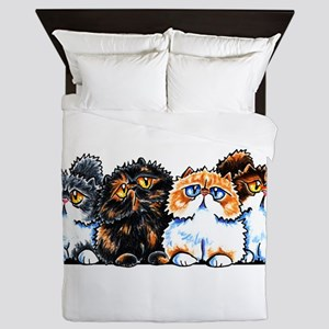 Exotic Foursome Queen Duvet