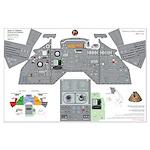 Apollo 13 Command Module Cockpit Poster