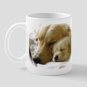 Mom And Pup Mugs