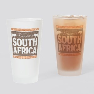 Discover South Africa Drinking Glass