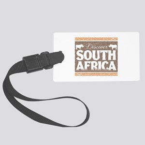 Discover South Africa Large Luggage Tag