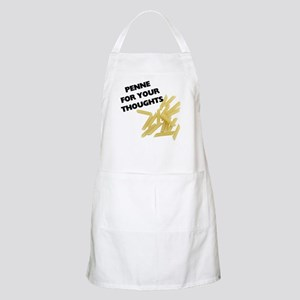 Penne For Your Thoughts BBQ Apron