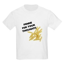 Penne For Your Thoughts Kids Light T-Shirt
