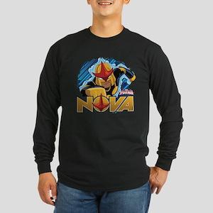Nova Action Long Sleeve Dark T-Shirt
