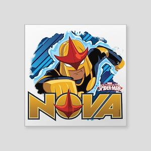 """Nova Action Square Sticker 3"""" x 3"""""""
