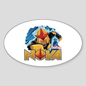 Nova Action Sticker (Oval)