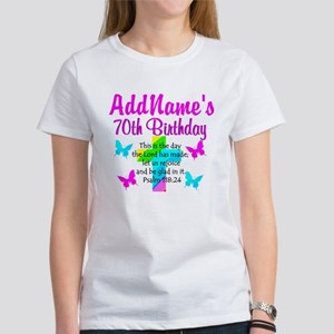 70TH PRAISE GOD Women's T-Shirt