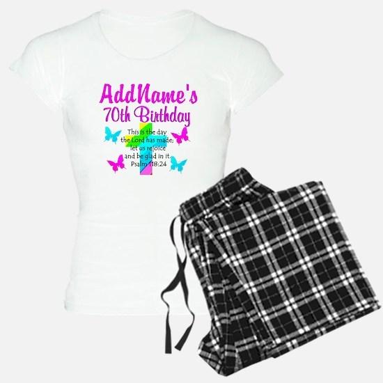 70TH PRAISE GOD pajamas
