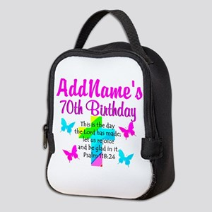 70TH PRAISE GOD Neoprene Lunch Bag