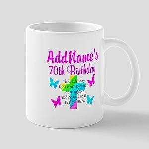 70TH PRAISE GOD Mug