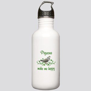 Pigeons Make Me Happy Stainless Water Bottle 1.0L