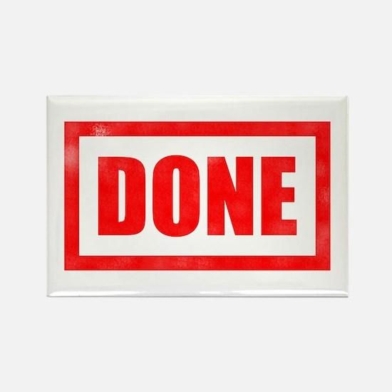 Done! Graduation Rectangle Magnet (100 pack)