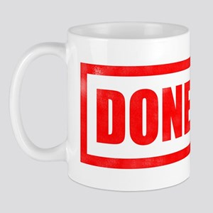 Done! Graduation Mug