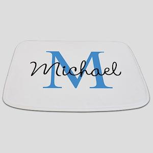 Personalize Iniital, and name Bathmat
