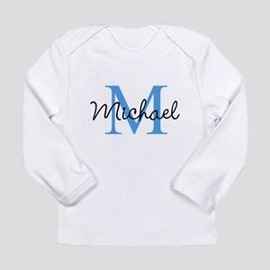 Personalize Iniital, and name Long Sleeve T-Shirt