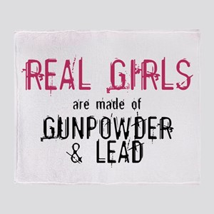 REAL GIRLS1 Throw Blanket