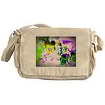 Violets Messenger Bag