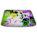 Violets Bathmat