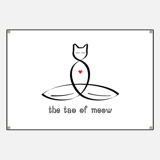 Cat Meditator - The Tao of Meow - Banner