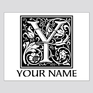 Custom Decorative Letter Y Posters