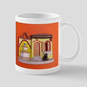 Mexican Ceramic House Mugs
