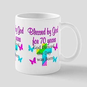 70TH LOVING GOD Mug