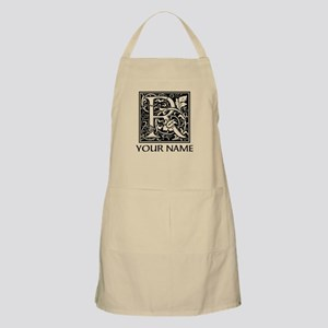 Custom Decorative Letter R Apron