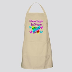 70TH BUTTERFLY Apron