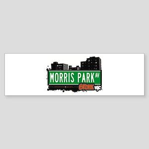 Morris Park Av, Bronx, NYC Bumper Sticker
