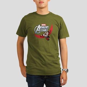 Falcon Assemble Organic Men's T-Shirt (dark)