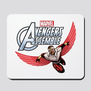 Falcon Assemble Mousepad