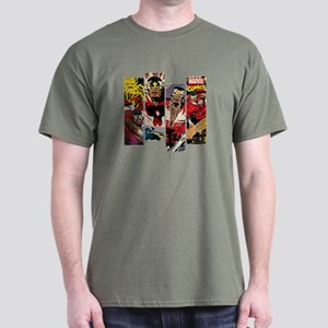 Falcon Comic Panel Dark T-Shirt