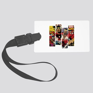 Falcon Comic Panel Large Luggage Tag