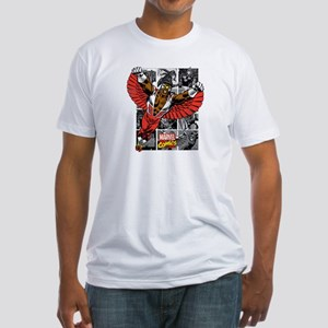 Comic Falcon Fitted T-Shirt