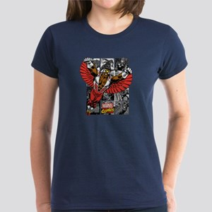 Comic Falcon Women's Dark T-Shirt