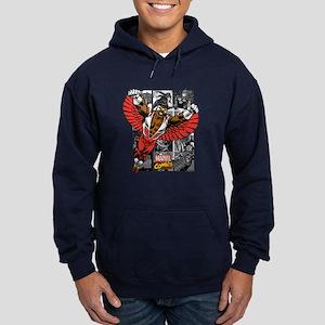 Comic Falcon Hoodie (dark)