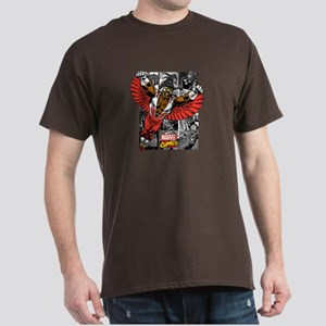 Comic Falcon Dark T-Shirt