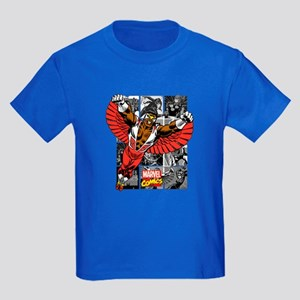 Comic Falcon Kids Dark T-Shirt